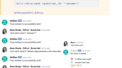 Orli Retro - Daily Bot - Scrum Bot for Project Management