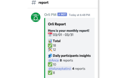 Automatic Work Reports Discord Scrum Teams Project Management Bot for Discord