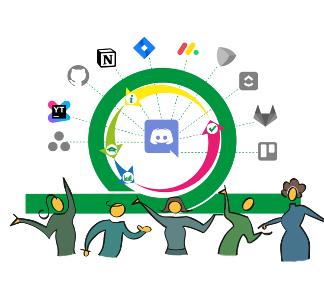Orli Agile Scrum Bot for Discord needs just one click to keep your tasks up-to-date across multiple Project Management tools. Automatic Orli Daily provides preconfigured Agile best practices with reports on performance, all while living in the convenience of your Discord server.