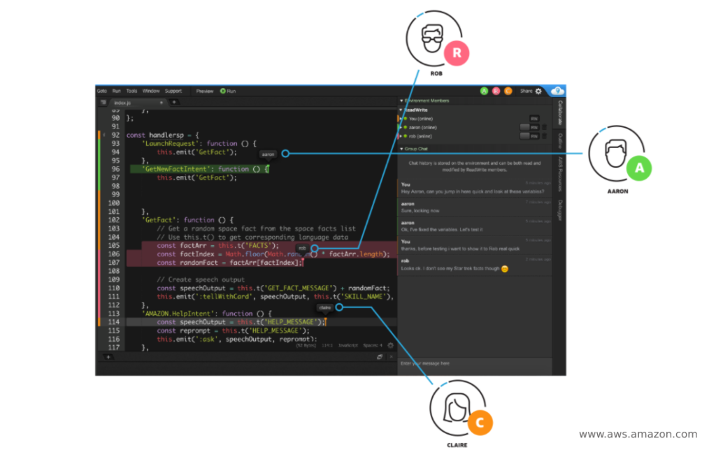 Cloud9 IDE - AWS Amazon - Top 10 Best Software Development Tools Any Developer Must Know