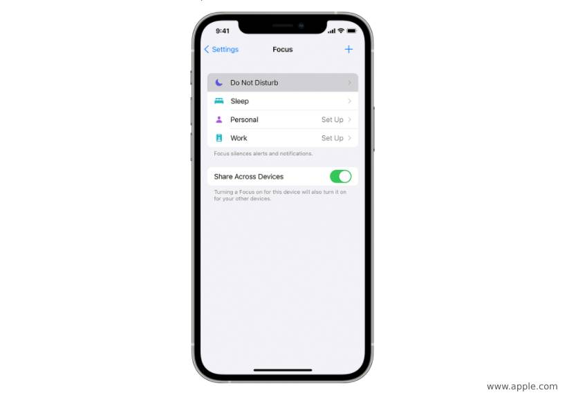 apple and adroid don't disturb mode app for staying focused project management todo list - teamwork apps - scrum bot